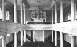 Orgel 1875 Quelle: Bildarchiv des Bergischen Geschichtsvereins Wermelskirchen