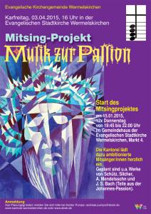 Plakat Mitsing Passion 2015