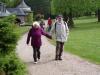 Lore und KW im Park Villa Bergfried