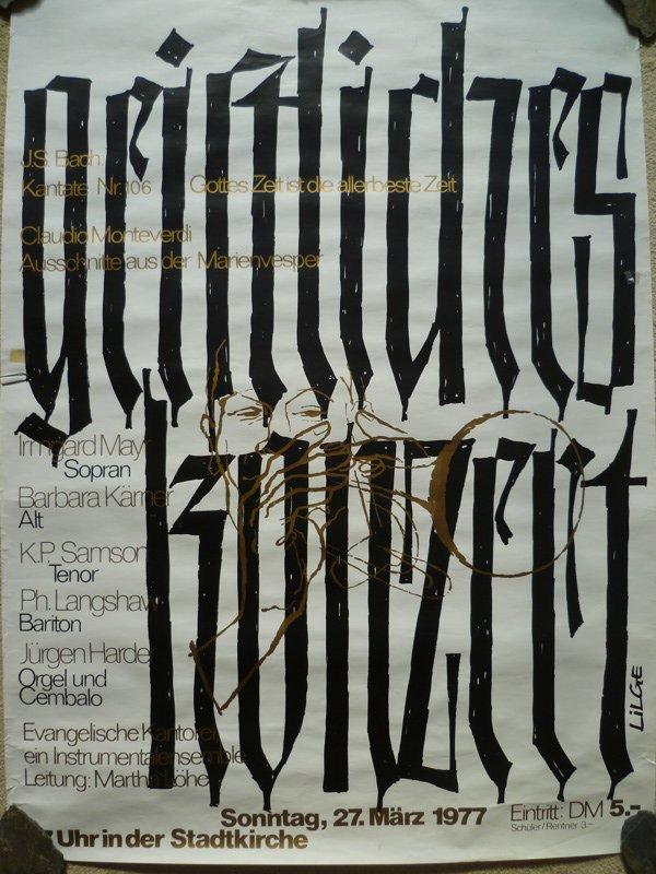 Geistliches Konzert 1977