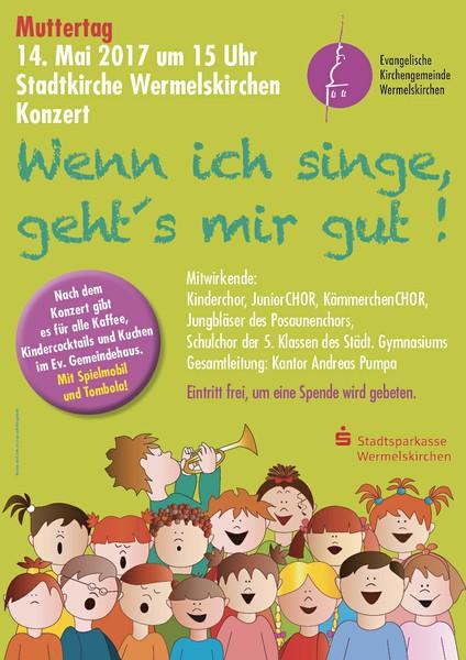Kinderkonzert Wenn ich singe am 14.05.2017