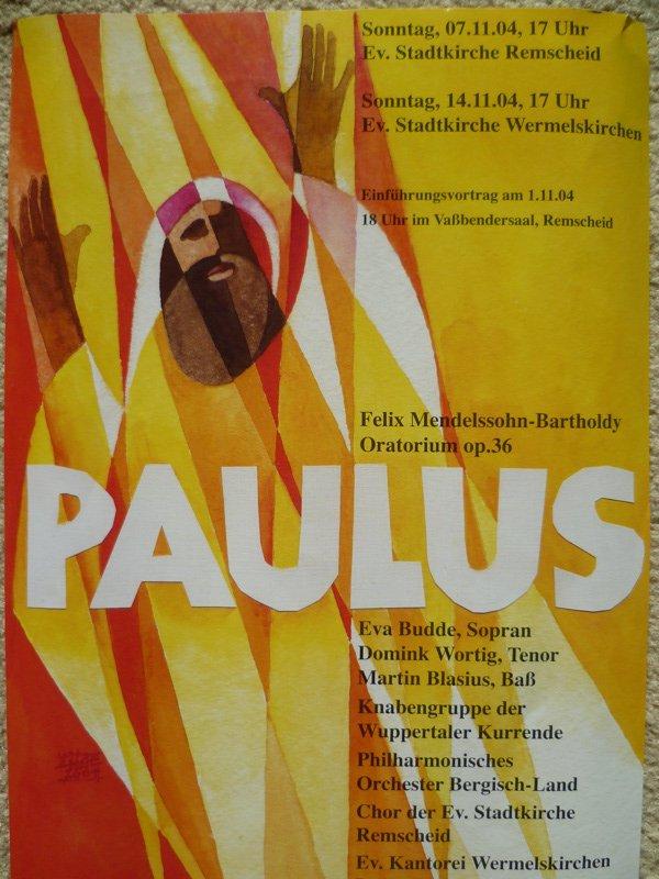 Mendelssohn Paulus 2004