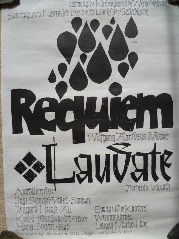 Mozart Requiem 1983