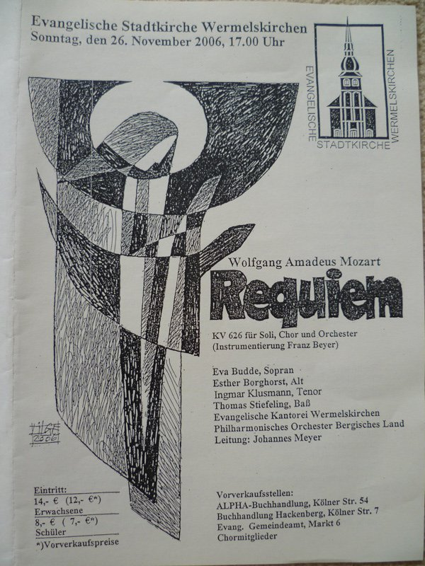 Mozart Requiem 2006