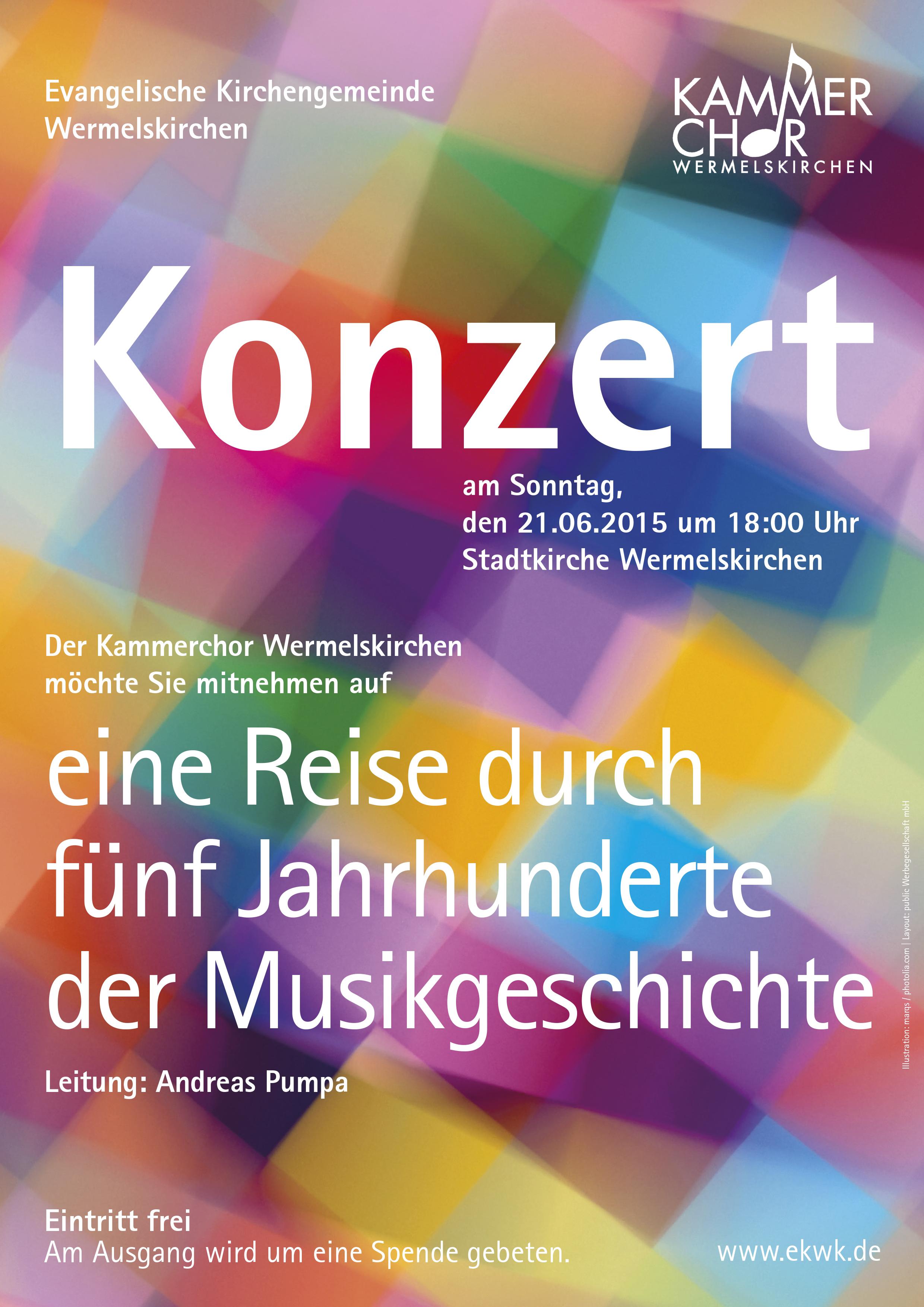 Konzert Kammerchor Juni 2015