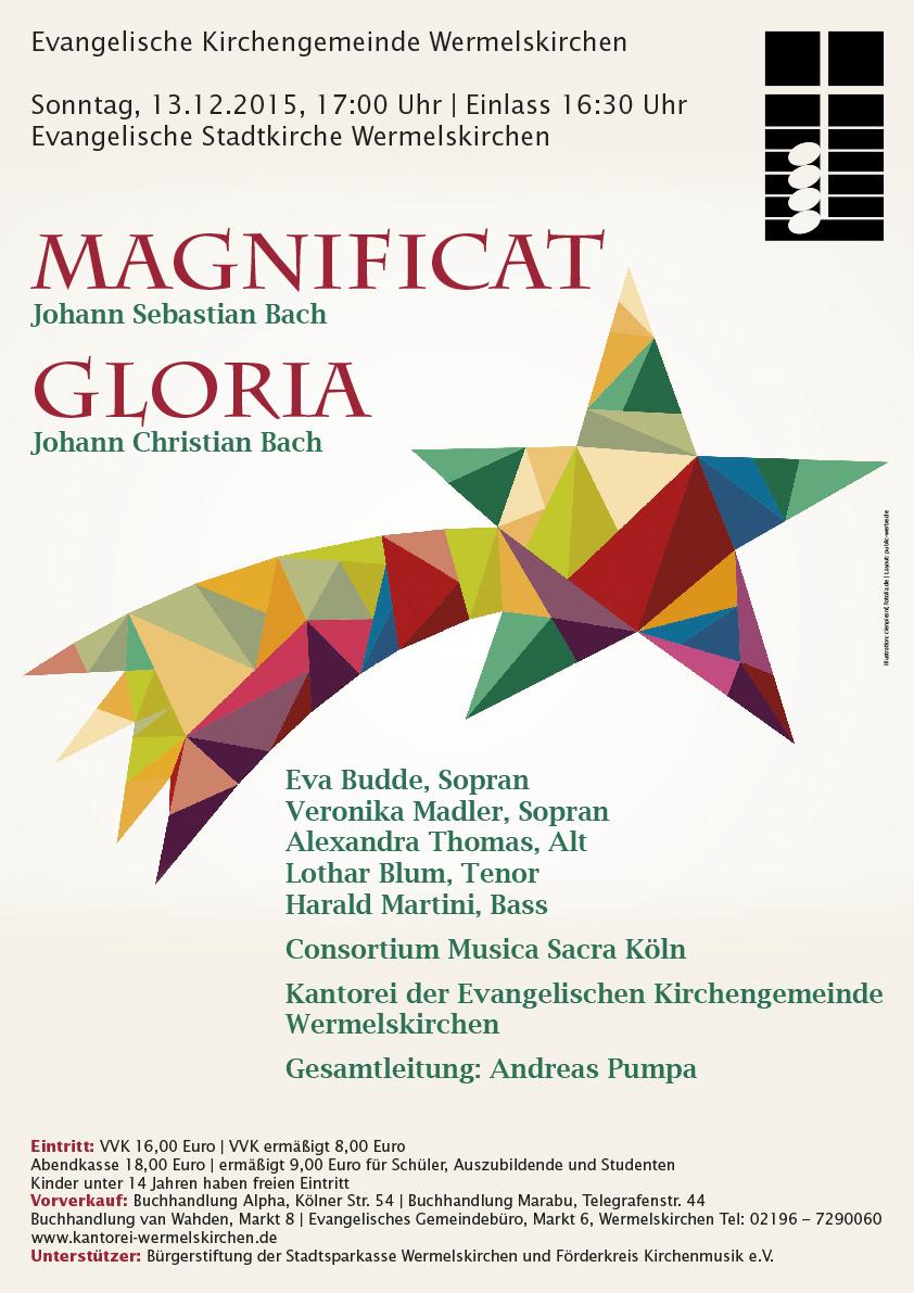 MAGNIFICAT Konzert Kantorei 2015