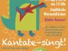 Kinderkonzert KANTATE! am 29.04.2018